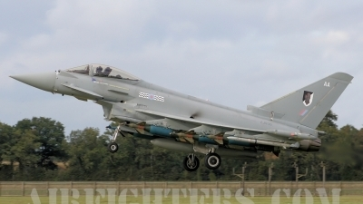 Photo ID 9833 by lee blake. UK Air Force Eurofighter EF 2000 Typhoon FGR4, ZJ930