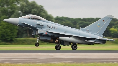 Photo ID 78763 by Alex van Noye. Germany Air Force Eurofighter EF 2000 Typhoon S, 30 58