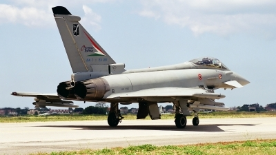 Photo ID 78868 by Kostas D. Pantios. Italy Air Force Eurofighter F 2000A Typhoon EF 2000, MMX603