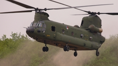 Photo ID 9889 by Lieuwe Hofstra. Netherlands Air Force Boeing Vertol CH 47D Chinook, D 103