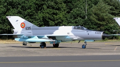 Photo ID 78895 by Arie van Groen. Romania Air Force Mikoyan Gurevich MiG 21MF 75 Lancer C, 6305