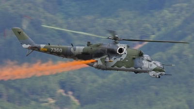Photo ID 78991 by Markus Schrader. Czech Republic Air Force Mil Mi 35, 7360