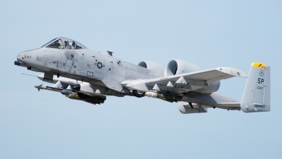 Photo ID 79002 by Horatiu Goanta. USA Air Force Fairchild A 10C Thunderbolt II, 82 0647