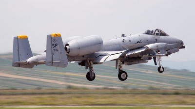 Photo ID 79062 by Horatiu Goanta. USA Air Force Fairchild A 10C Thunderbolt II, 81 0965