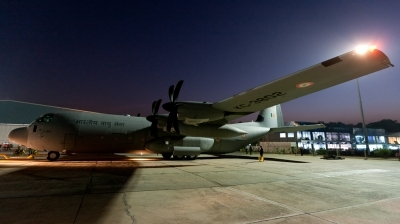 Photo ID 79377 by Andreas Zeitler - Flying-Wings. India Air Force Lockheed Martin C 130J 30 Hercules, KC3802
