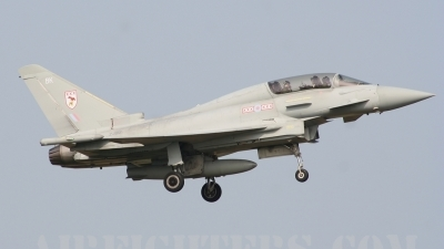 Photo ID 9954 by lee blake. UK Air Force Eurofighter EF 2000 Typhoon T1, ZJ812