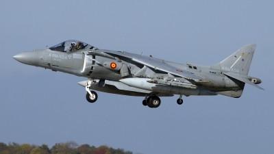 Photo ID 79505 by Matthias Bienentreu. Spain Navy McDonnell Douglas AV 8B Harrier ll Plus, VA 1B 29