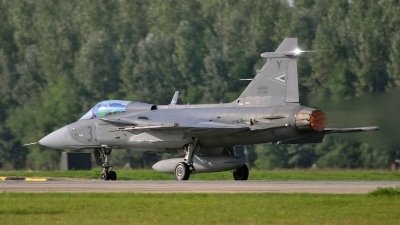 Photo ID 79499 by Martin Thoeni - Powerplanes. Hungary Air Force Saab JAS 39C Gripen, 33