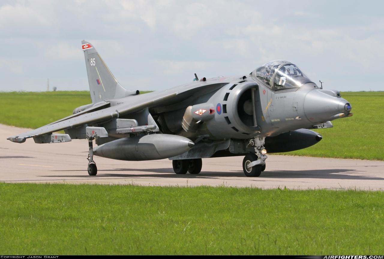ZG531 (cn P85) British Aerospace Harrier GR 9 Photo by Jason Grant