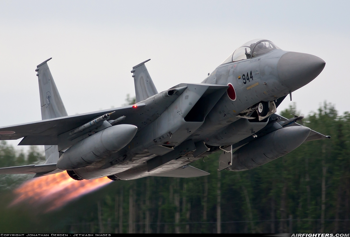 Photo ID 101409 by Jonathan Derden - Jetwash Images. Japan Air Force McDonnell Douglas F 15J Eagle, 42 8944