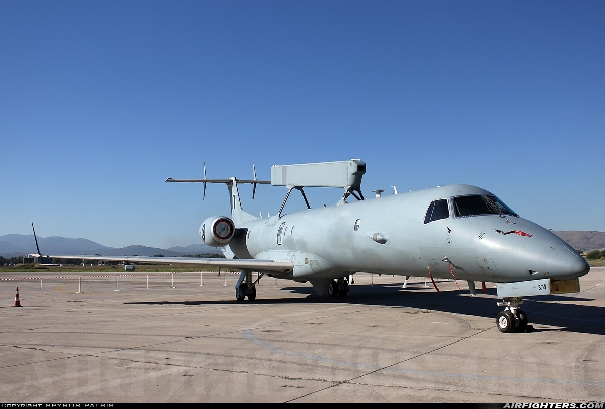Risultati immagini per Embraer EMB-145 AEW&C 374