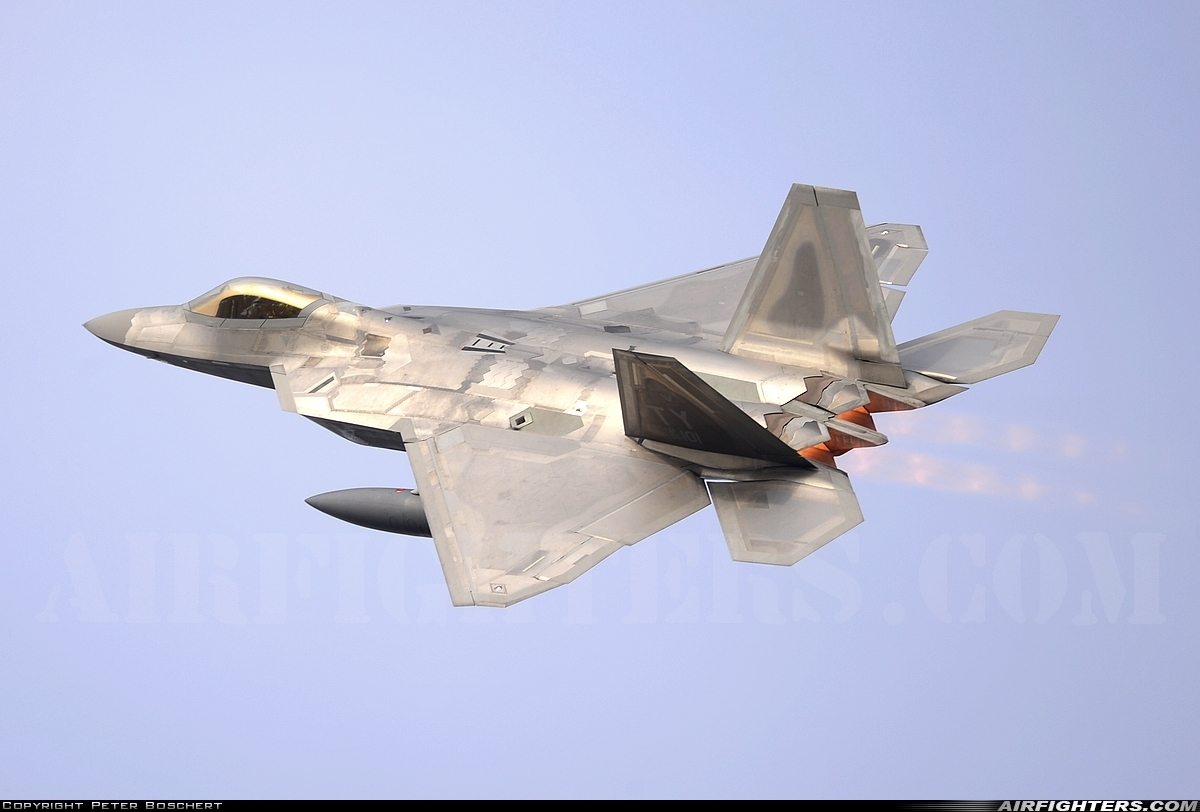 Photo ID 216139 by Peter Boschert. USA Air Force Lockheed Martin F 22A Raptor, 05 4101