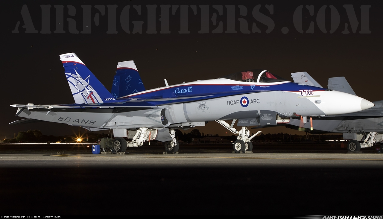 Photo ID 217388 by Chris Lofting. Canada Air Force McDonnell Douglas CF 188A Hornet CF 18A, 188776