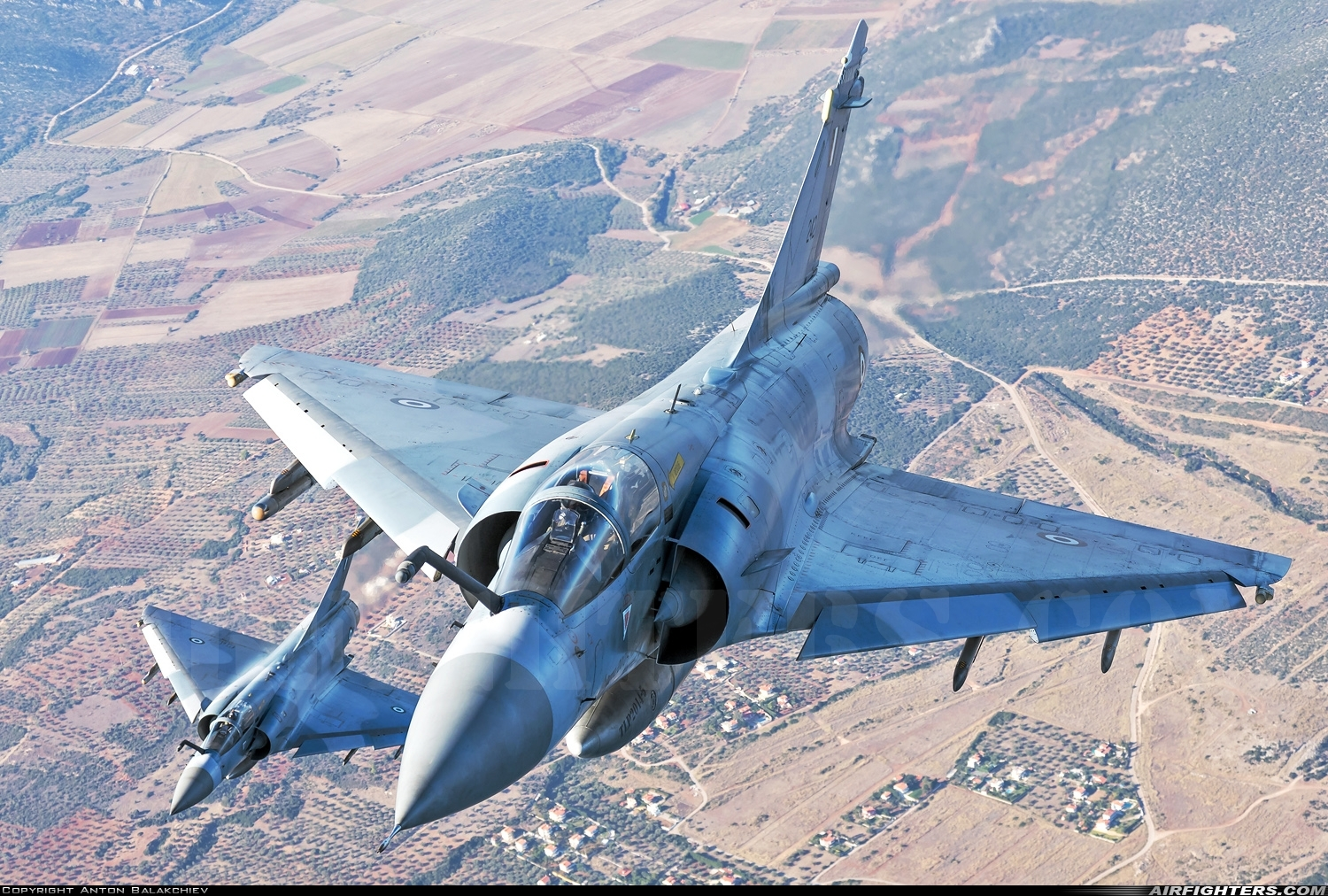 Photo ID 217407 by Anton Balakchiev. Greece Air Force Dassault Mirage 2000EG, 242