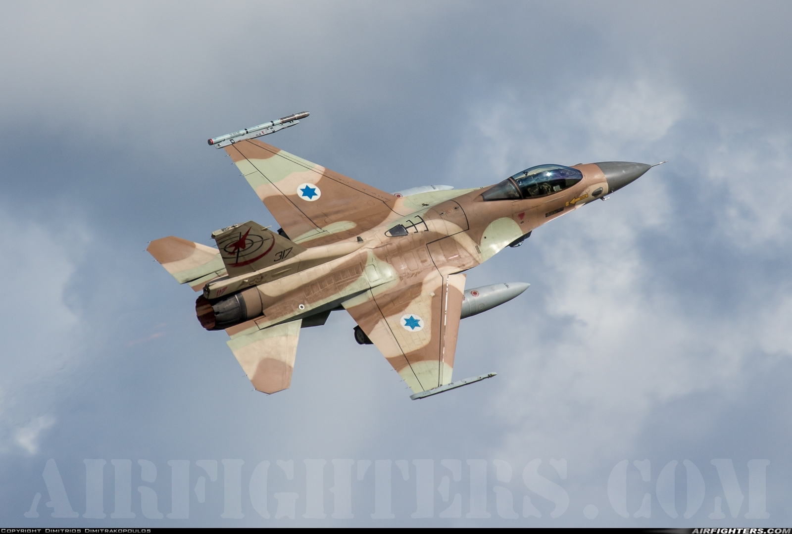 Photo ID 219627 by Dimitrios Dimitrakopoulos. Israel Air Force General Dynamics F 16C Fighting Falcon, 317