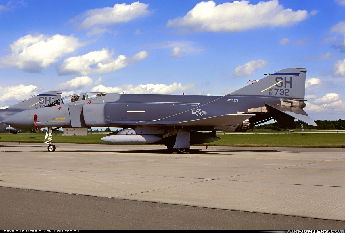 Photo ID 219662 by Gerrit Kok Collection. USA Air Force McDonnell Douglas F 4D Phantom II, 66 7732
