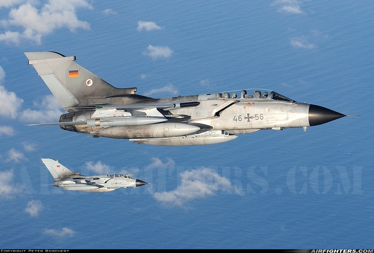 Photo ID 226534 by Peter Boschert. Germany Air Force Panavia Tornado ECR, 46 56