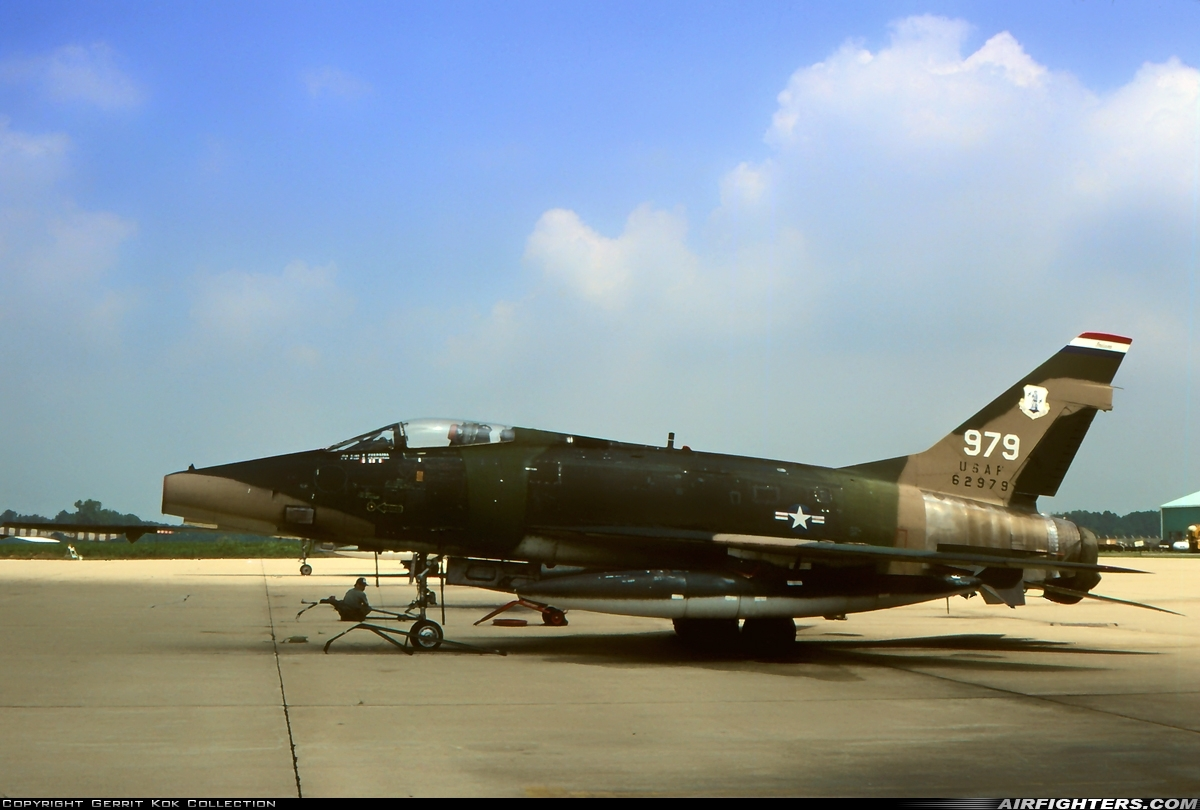 Photo ID 226570 by Gerrit Kok Collection. USA Air Force North American F 100D Super Sabre, 56 2979