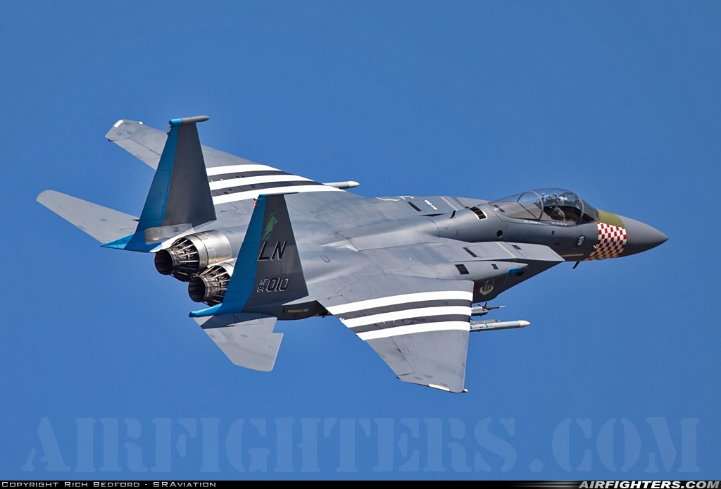 Photo ID 226575 by Rich Bedford - SRAviation. USA Air Force McDonnell Douglas F 15C Eagle, 84 0010
