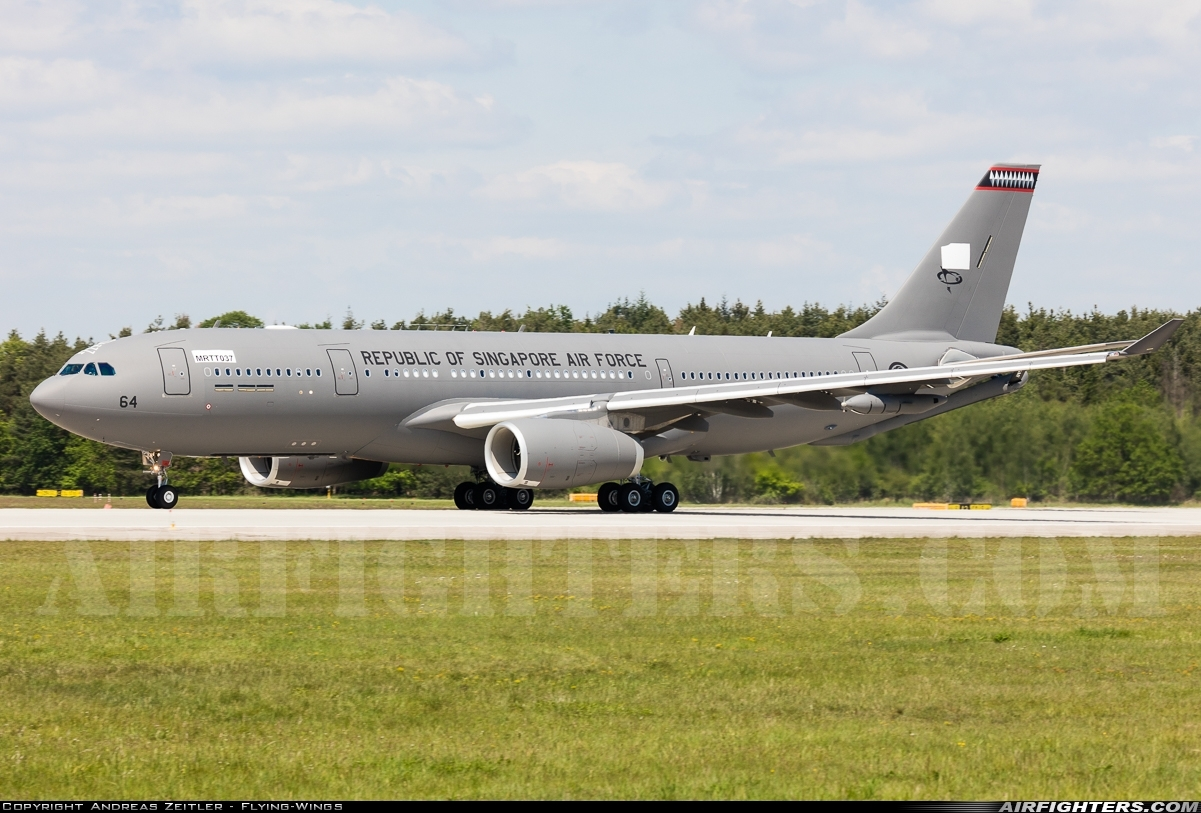 Photo ID 226614 by Andreas Zeitler - Flying-Wings. Singapore Air Force Airbus A330 243MRTT, EC 335