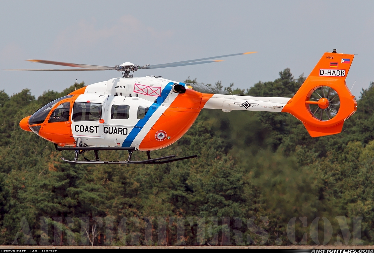 D-HADK (cn 20273) Airbus Helicopters H145T2 Photo by Carl