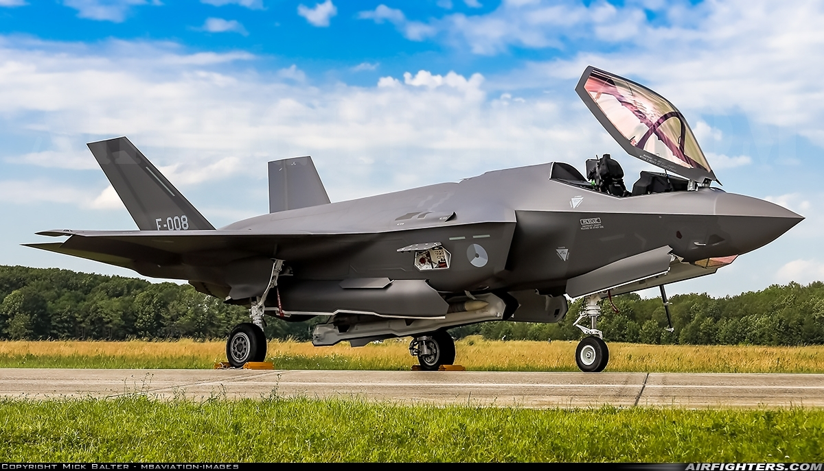 Photo ID 235227 by Mick Balter - mbaviation-images. Netherlands Air Force Lockheed Martin F 35A Lightning II, F 008