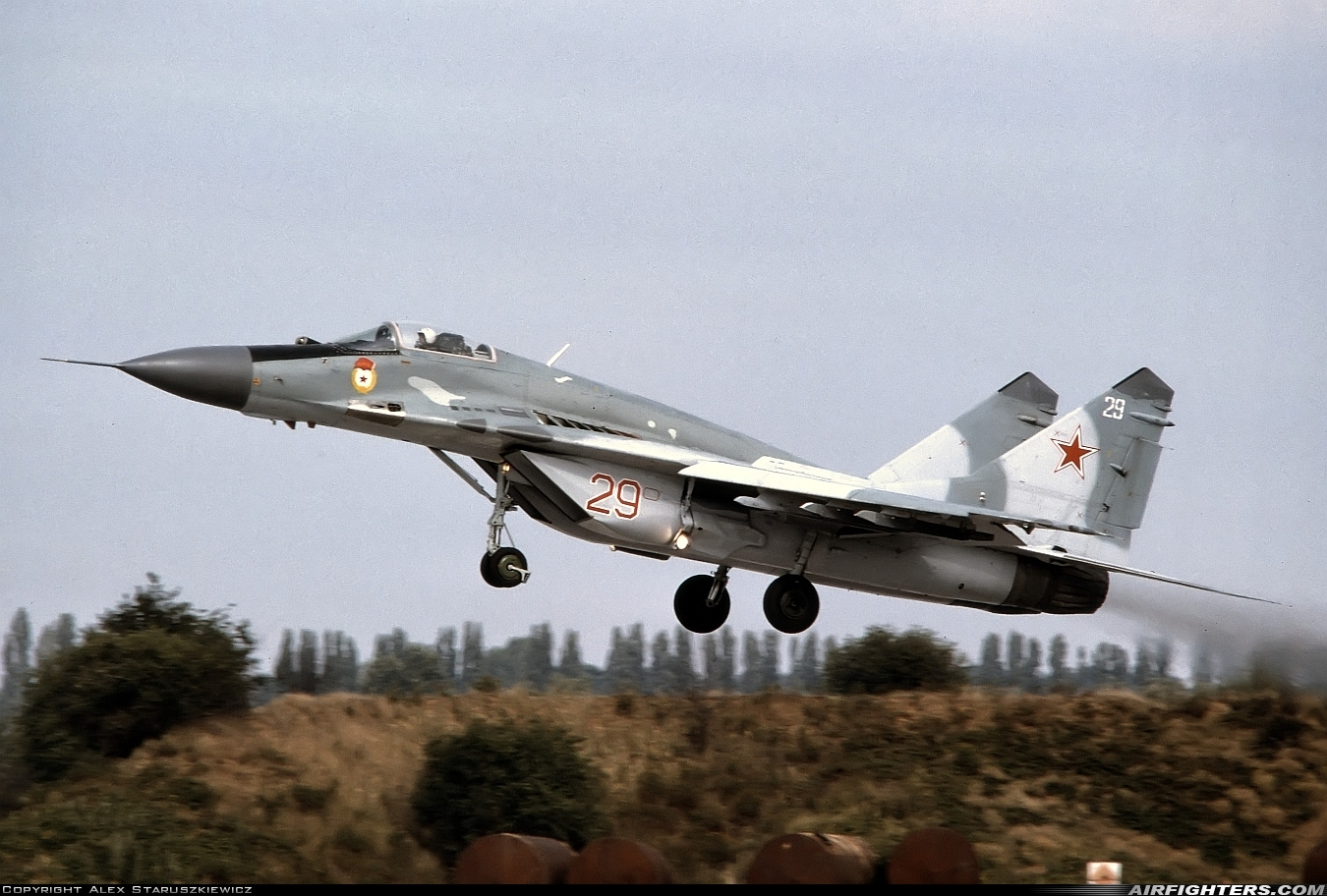 Photo ID 235270 by Alex Staruszkiewicz. Russia Air Force Mikoyan Gurevich MiG 29 9 13,