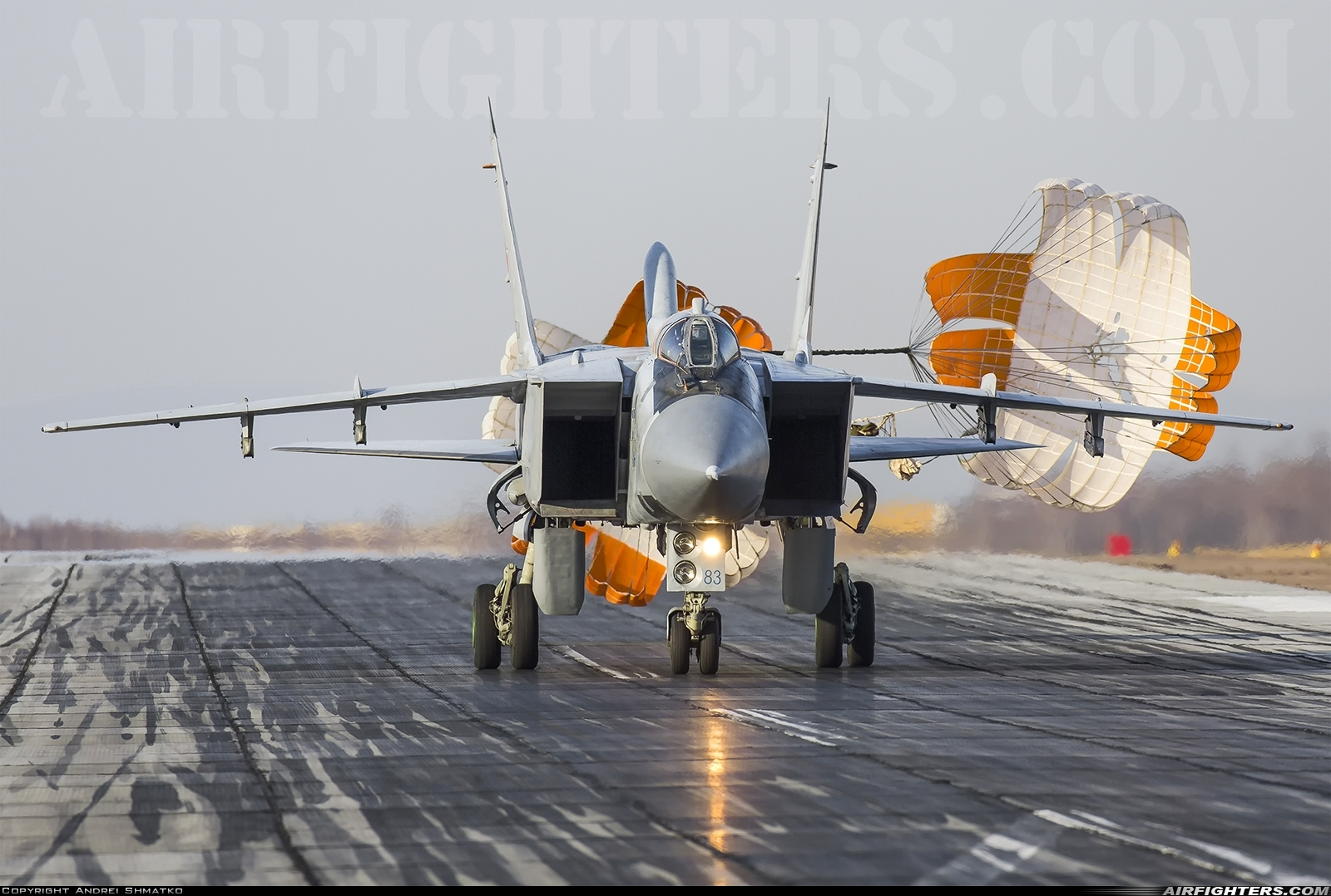 Photo ID 239927 by Andrei Shmatko. Russia Air Force Mikoyan Gurevich MiG 31BM,