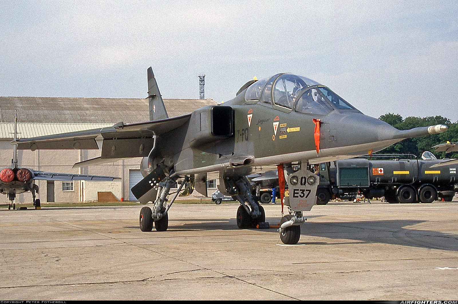 Photo ID 246311 by Peter Fothergill. France Air Force Sepecat Jaguar E, E37