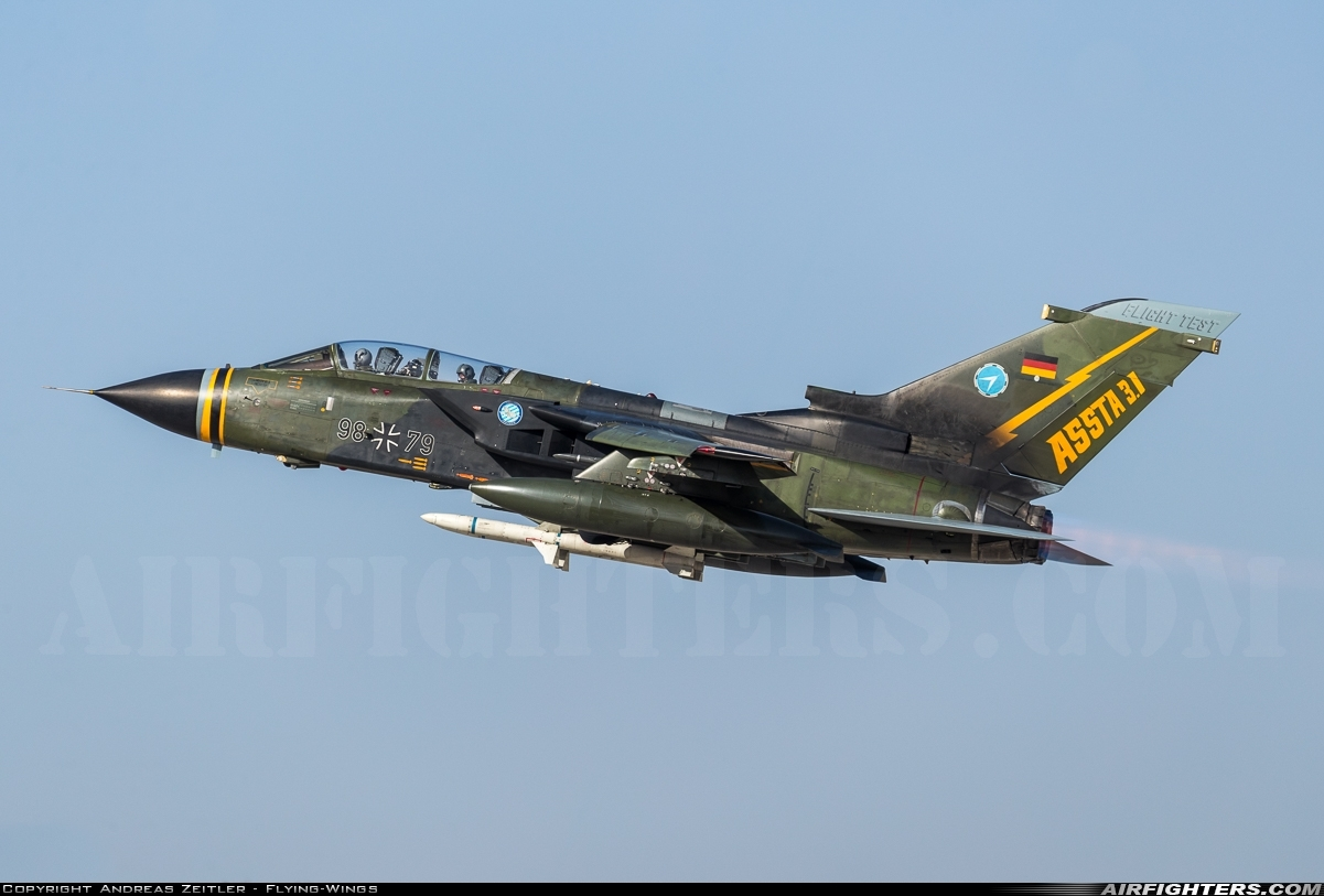 Photo ID 251180 by Andreas Zeitler - Flying-Wings. Germany Air Force Panavia Tornado ECR, 98 79