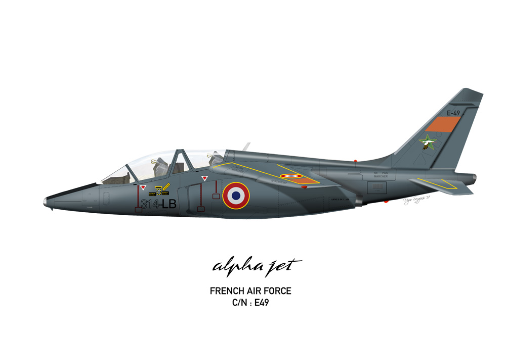 Alpha Jet French Air Force