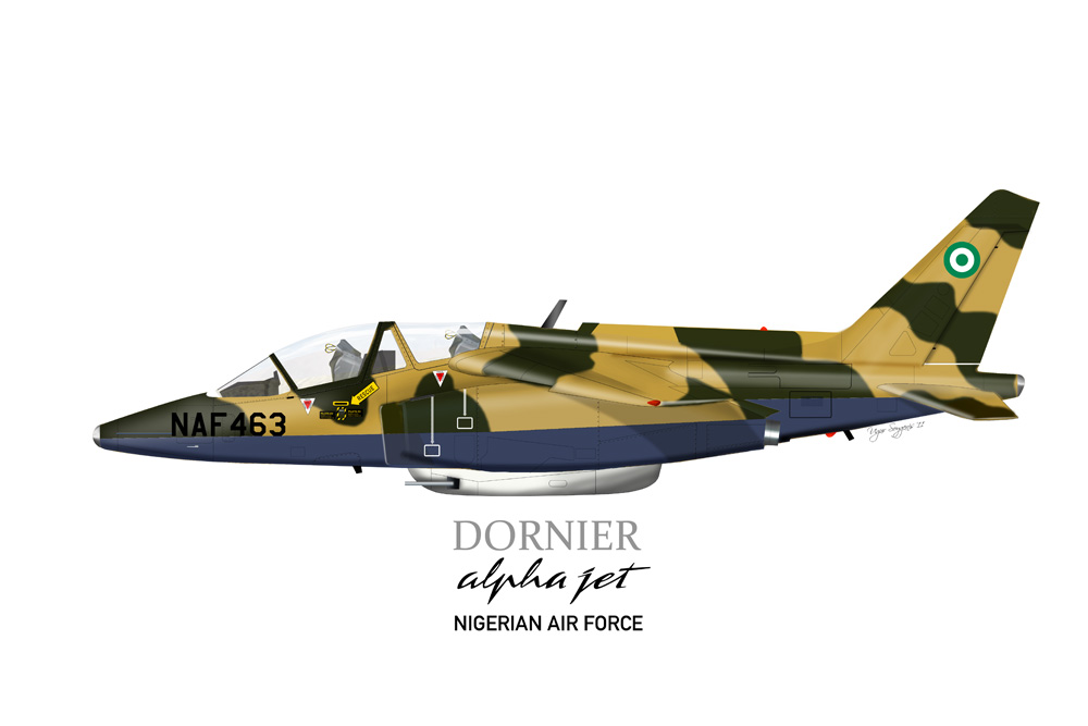 Alpha Jet Nigerian Air Force