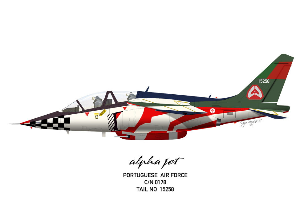 Alpha Jet Portugal Air Force