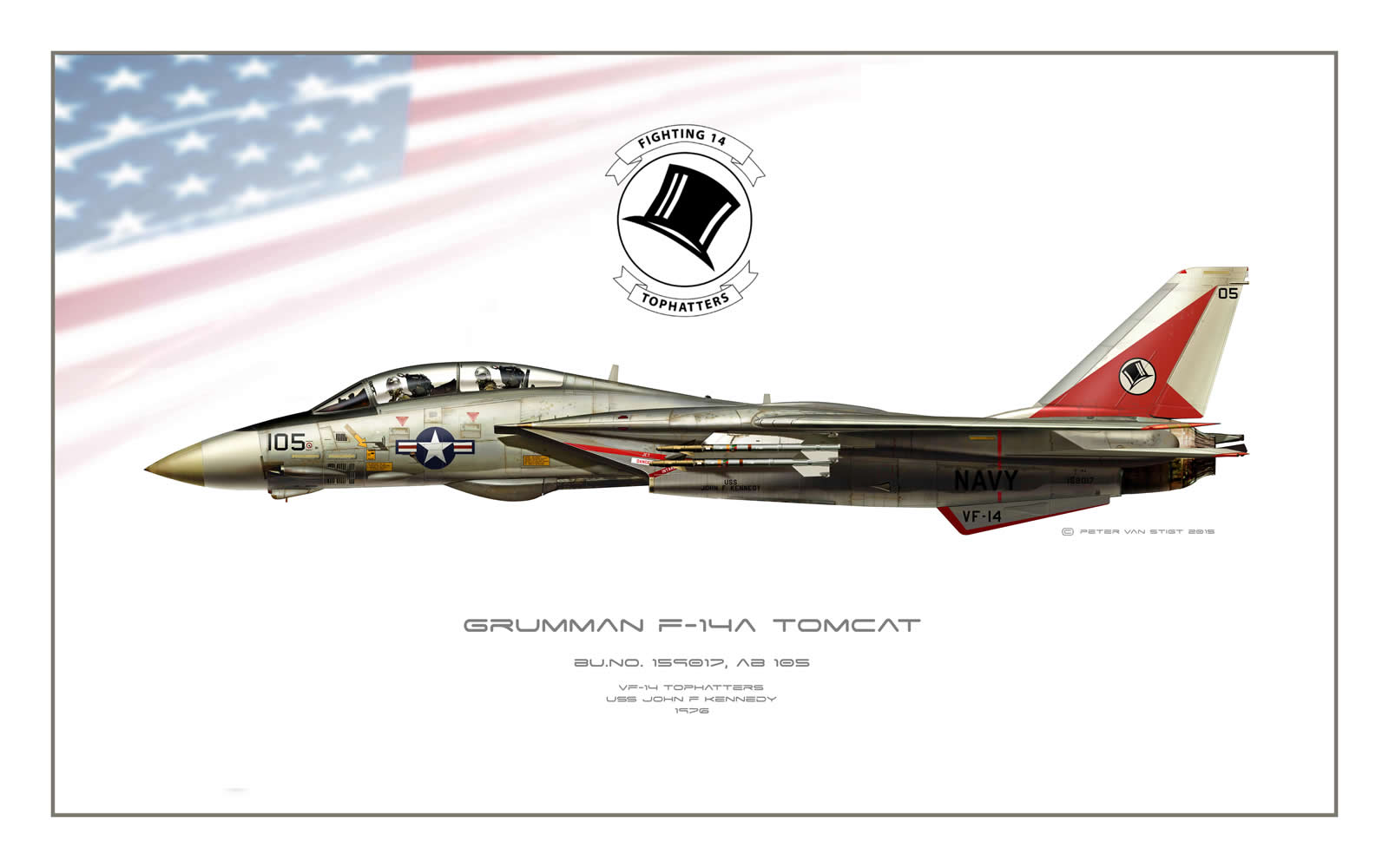 VF-14 Tophatters F-14 Tomcat Profile