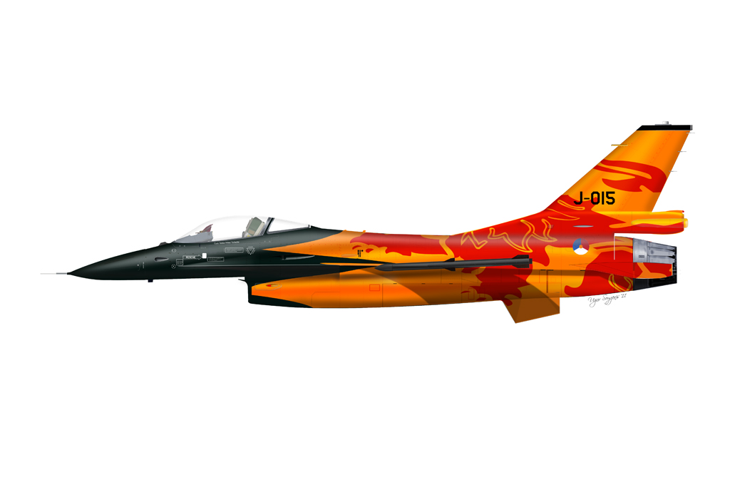 F-16C Solo Team Netherlands