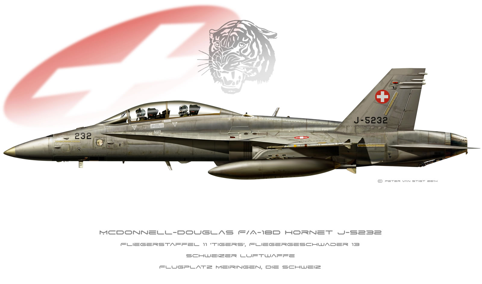 Swiss Air Force Hornet Profile