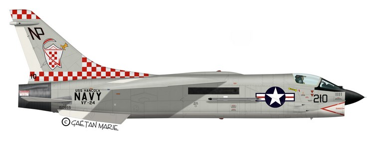 airfighters com vought f 8 crusader profiles. Black Bedroom Furniture Sets. Home Design Ideas