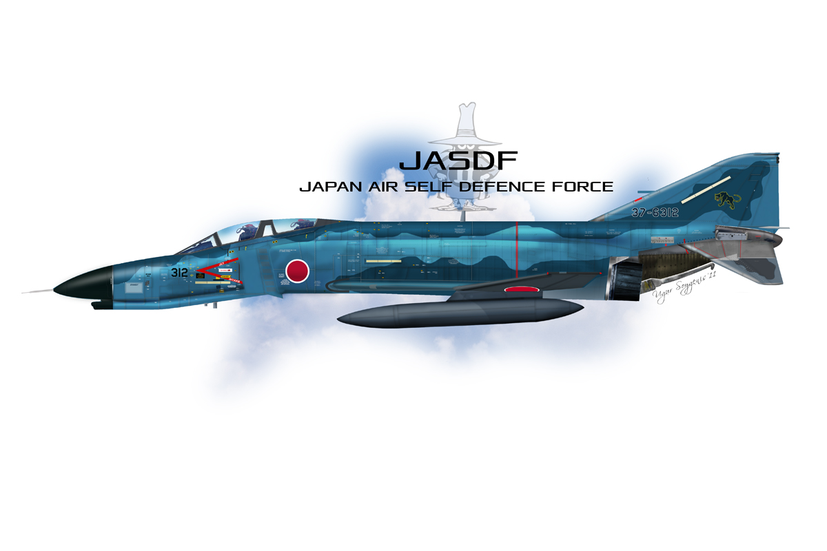 JASDF F-4 Phantom II Profile