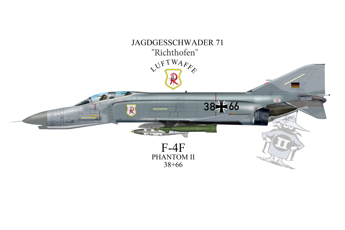 F-4 Phantom II Profile