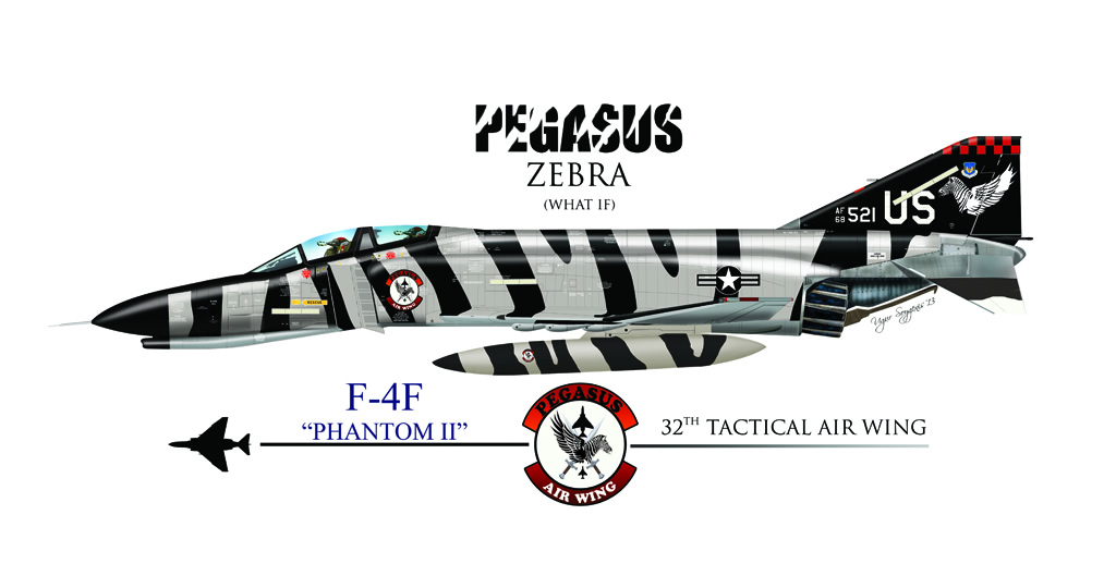 F-4E Phantom II Profile