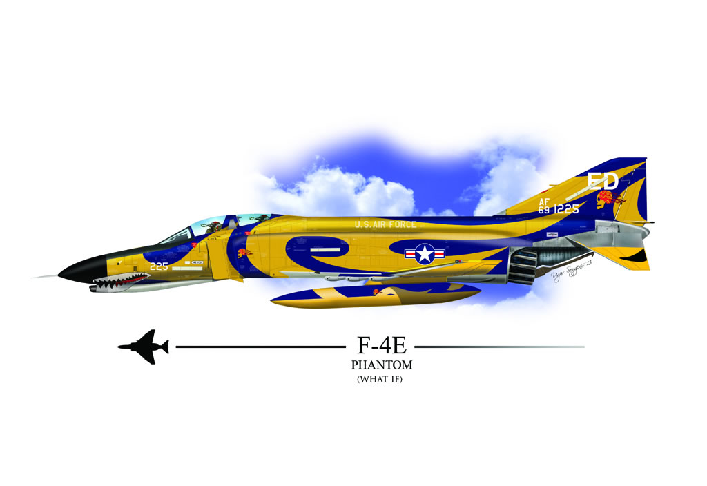 F-4C Phantom II Profile