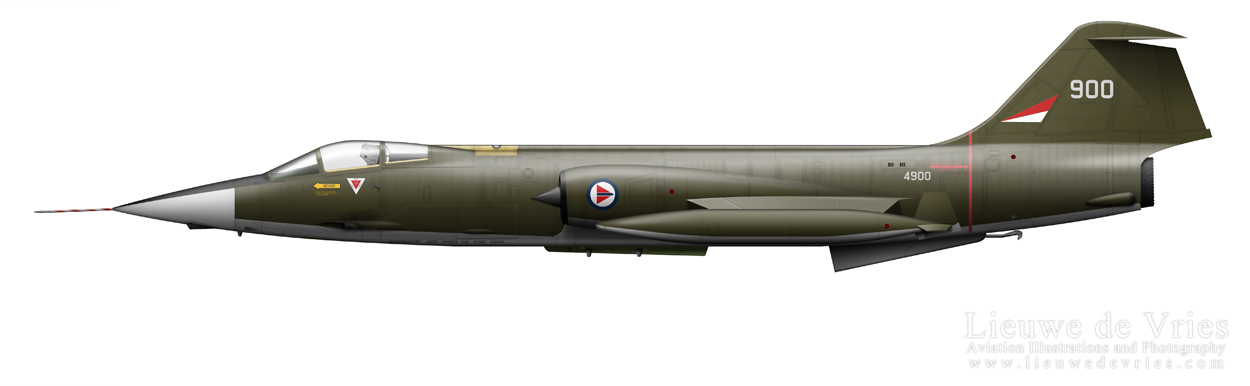 profile of Royal Norway Air Force CF-104G Starfighter 11052011