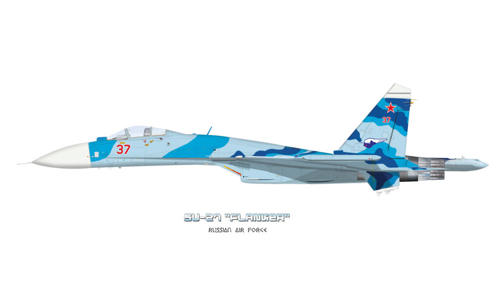 Airfighters Com Sukhoi Su 27 Profiles