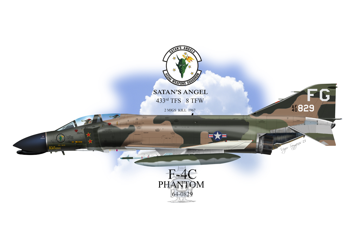 USAF F-4C Phantom II Profile