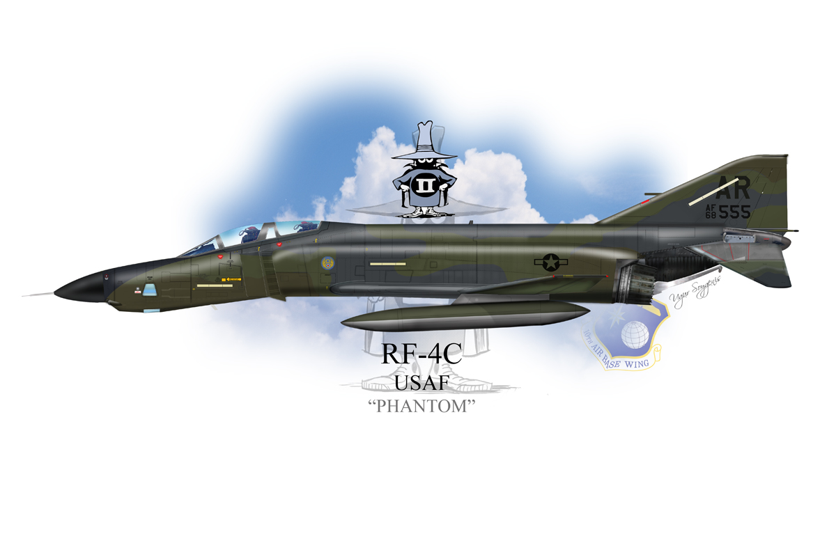 USAF RF-4C Phantom II Profile