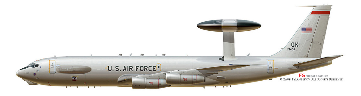 E-3 Sentry AWACS Profile